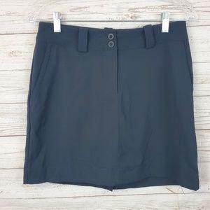 Nike Golf Tour Performance Dri Fit Black Skirt